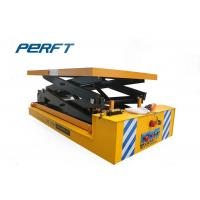 China Scissor Lifts Electric Transport Cart / Battery Operated Cart Easy Installation on sale