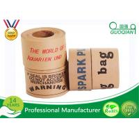 Good Strong Adhesive Security kraft paper gum tape With Reinforced Fiberglass Manufactures
