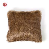 Soft Fluffy two-tones Faux Fur throw pillow covers cushion case luxury series