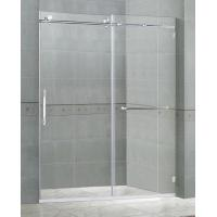 10MM Clear Tempered Sliding Glass Shower Doors Easy Installation SGCC Certification Manufactures