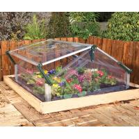 white cold frame with two vents Manufactures