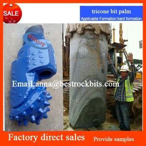 Hot sale 6inch 152mm tricone bit palm hard rock drilling api roller cone bit cutters / tricone cones / tricone cutters Manufactures