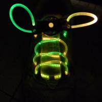 New Red-Green LED Flash Shoelaces Manufactures
