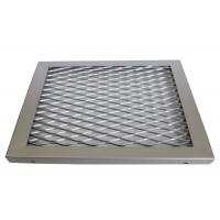 China Big Hole Heavy Expanded Galvanized Steel Mesh Metal Sheet For Fences And Grates on sale