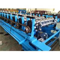 China IBR Roof Panel Forming Machine Sheet Roll Forming Machine Standing Pillar Type on sale