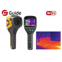 WIFI Connectivity Infrared Thermal Camera 320×240 17μM Guide For Industrial Testing Manufactures