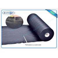 Black Garden Weed Control Fabric For MaintainTemperature To Benefit Healthy Growth Weed Control Manufactures