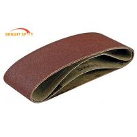 Wide Belt Sander Metal Sanding Belts  6 X 48 Inch For Furniture Industry Manufactures