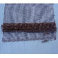"""Quality Lightweight Fireplace Spark Guard Curtains, Hanging Mesh Curtain Fireplace Screens10"""" - 36"""" for sale"""