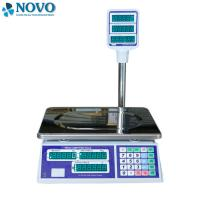 Tare Function Digital Pricing Scale 350 Mm Pan APD-J08 Dual Side LED Display Manufactures