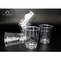 U Shape Bottom Disposable Plastic Drinking Cups Customized UV Printing Manufactures