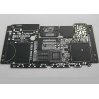 BGA Black Solder Mask High Density Interconnect PCB for High end Electronics 8 Layer Manufactures