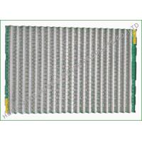 Solids Control Pinnacle Shaker Screen Mesh , Labeled Screen 3 Layers Wire Cloth Manufactures