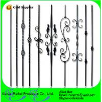 China dectrotive cast iron baluster for ornametnal stair on sale