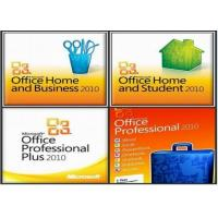 Quality Microsoft Office 2010 Product Key Card For Microsoft Office Professional 2010 for sale