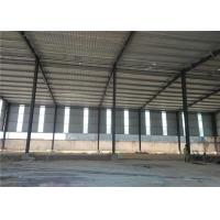 Construction Precoated Roofing Sheets Prefabricated Steel Frame Warehouse In Philippines Manufactures