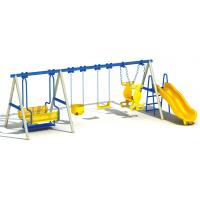 professional Chinese manufacturer outdoor play swing kids plastic slide Manufactures
