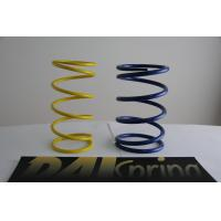 Heat resistance SWPA yellow / blue light duty compression springs / compression coil spring Manufactures
