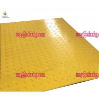 Buy cheap excavator construction black trackway reuable polyethylene ground protection from wholesalers