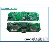 China Fr4 Rigid Pcb Prototype Assembly Electronic Led Tv Pcb Board 4 Layers 0.8MM Thickness on sale