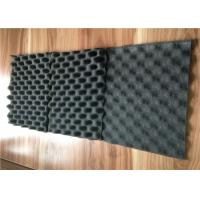 Eggcrate Rubber Acoustic Foam Panels For Cars / Floor Soundproofing 8mm Manufactures