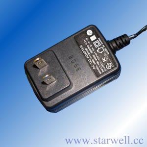 China AC / DC Power Adapter 12 Volt 1.0 Amp UL CE FCC GS SAA C-TICK on sale