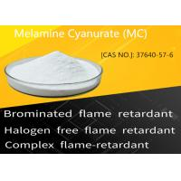China Melamine Cyanurate MC 37640-57-6 halogen Free Flame Retardant on sale