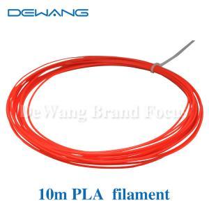 Custom  red , yellow , transparent  PLA 3D Printer Filament 3d printing consumables Manufactures
