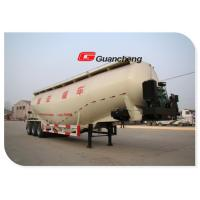 New powder material Cement Tank Trailer 40t cement truck dry bulk trailer Manufactures