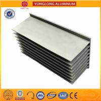 China Compound Material Aluminum Heatsink Extrusion Timber Texture on sale