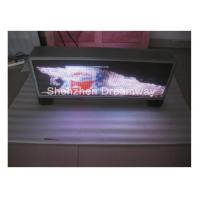 China MOV DAT Video PH5 Taxi Top LED Display Advertising Waterproof , Automatic Brightness Adjusting on sale
