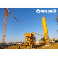 Easy Operation Concrete Mixing Plant Mobile Type , Occupies Less Space Manufactures