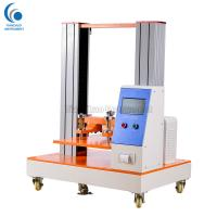 Corrugated Box Paper Core Compression Strength Tester 100mm / Min Return Speed Manufactures