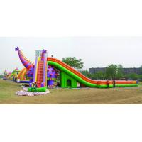 PVC,funny inflatable slide island kids games,cheap movable inflatable slide toy used for sale Manufactures