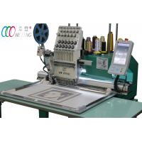 Flat bed / Cap Single Head Embroidery machine ,  Cross-stitch Artware Manufactures