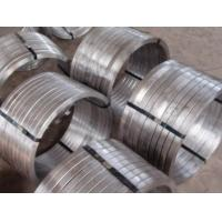 Industrial 321 Stainless Steel Forgings , Forged Rolled Rings ASTM JB4728 DIN EN Manufactures