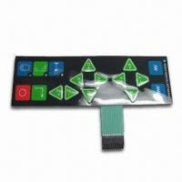 Membrane Keyboard with Backlighting LED and 500V DC/500mΩ Insulation Resistance Manufactures