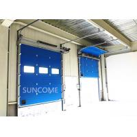 40mm Width Insulated Mental Industrial Sectional Doors Outside Application Manufactures