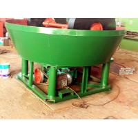 China Grinding Gold Beneficiation Machine Wet Pan Mill High Yield ISO9001 Certificate on sale