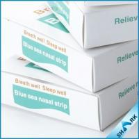 China Snoring Nasal Strips Stop Snoring , Medical Nasal Strips RoHS Approved on sale