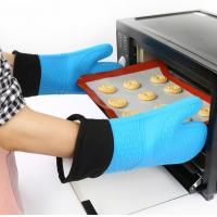 Waterproof Silicone Hand Gloves Cotton Inside Heat Insulation Hand Protection Manufactures