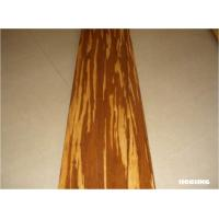 Tiger Grain Strand Eco Friendly Bamboo Flooring 960 * 96 * 15 mm Manufactures