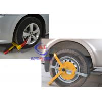 Trucks / Big Vehicle / trailer wheel clamp lock Adjustable Size , Easy operate Manufactures