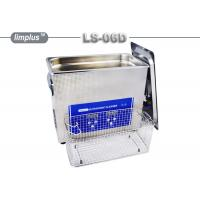 Buy cheap LS - 06D 6.5 Liter Digital Pipe Tube Ultrasonic Cleaner Machine / Ultrasonic Cleaning Bath Lab Use from wholesalers