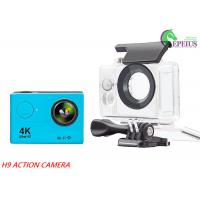4K Ultra HD Waterproof Action Camera H9 1080P With 170 Wide Angel / Wifi Control Manufactures