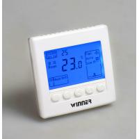 China AC220V 3 Speed High/Med/Low 3 Mode Heat/Cool/Air Control Digital Room Thermostat on sale