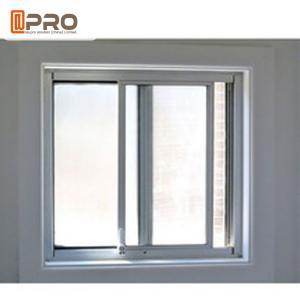 Simple Modern House Aluminium Vertical Sliding Windows Balcony Curtain Manufactures