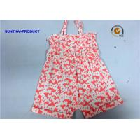 China Single Piece Tank Newborn Baby Bodysuits Butterfly Reactive All Over Printing on sale
