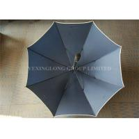 Flip Proof Personalized Golf Umbrellas , Outdoors Large Heavy Duty Rain Umbrella Manufactures