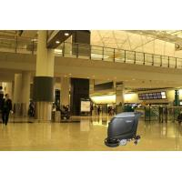 40L Ride On Scrubber Dryer Auto Floor Scrubber With 20 Inch Single Brush Manufactures